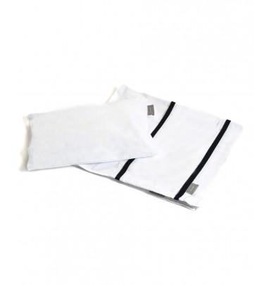 Lenzuolino Basic Bianco/Blu