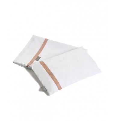 Lenzuolino Basic Bianco/Cipria