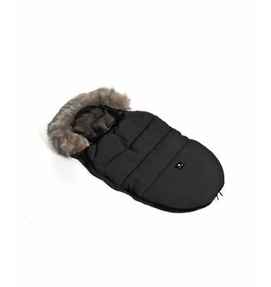 Foot Muff Moose Ecopelle Nero